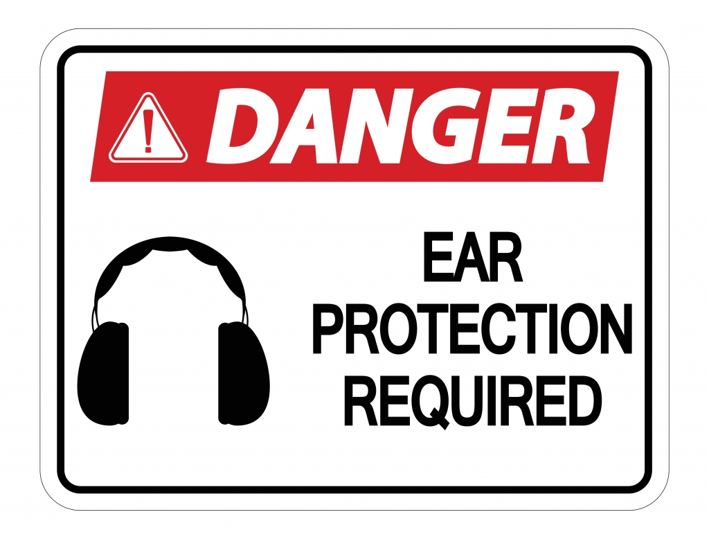This Ear Protection danger sign complements the text in my article which explains that a control valve cavitating loudly in an industrial area can produce very loud sound and noise.