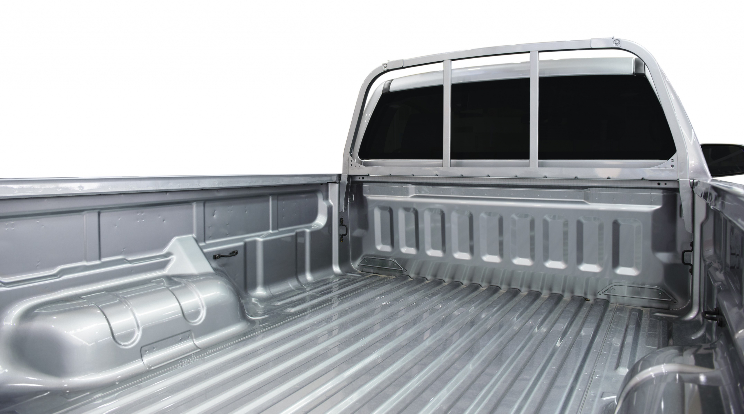 This image of the bed of a military-grade aluminum pickup truck compliments the text of the article. Imperia Engineering Partners recently redesigned the electrical system of an aluminum plant that supplies automobile manufacturers with such aluminum.